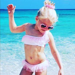 piccoli principi Swim - Princess tutu one shoulder bikini